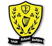 Irish school badges